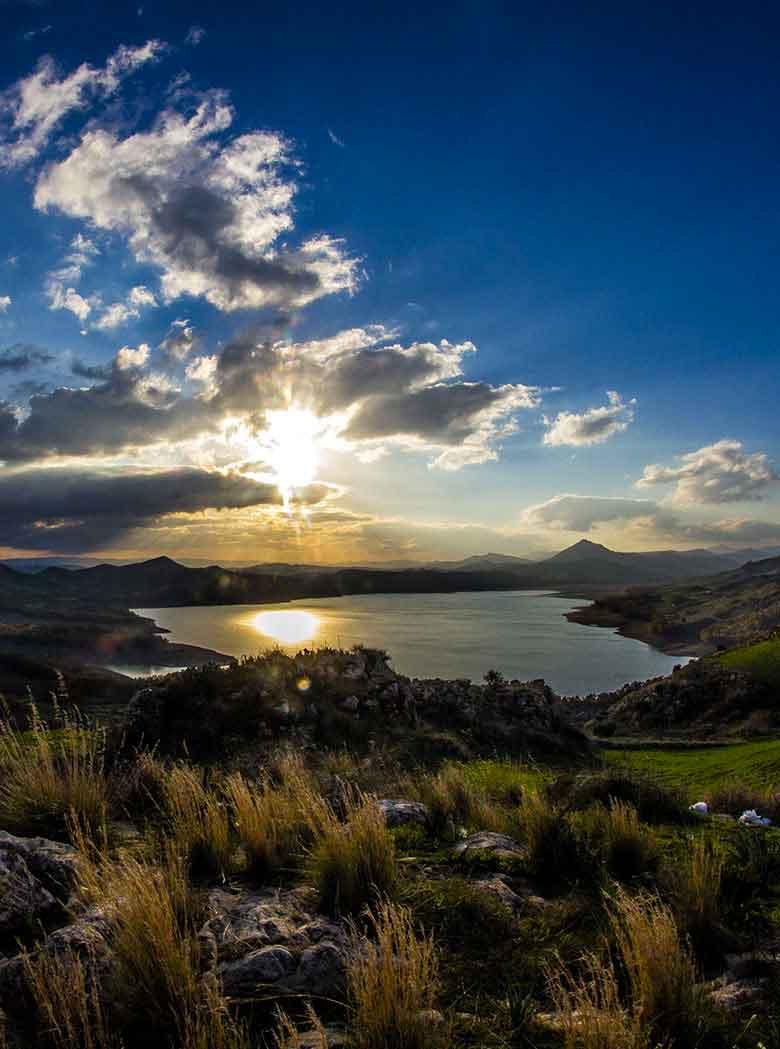 Veduta del Lago Pozzillo